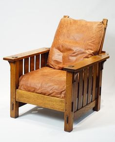 Quot Morris Chair Quot By Gustav Stickley 1902 The Craftsman