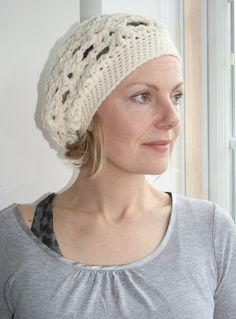 Crochet patterns crochet hat pattern vintage #crochetspringberet #crochetpattern #crochethatpattern