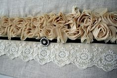 Linen and Lace...easy to make