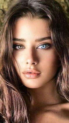 Most Beautiful Eyes, Gorgeous Eyes, Pretty Eyes, Cool Eyes, Gorgeous Women, Cute Beauty, Beauty Full Girl, Beauty Women, Model Face