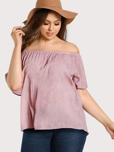 Shop Off Shoulder High Low Top online. SheIn offers Off Shoulder High Low Top & more to fit your fashionable needs.