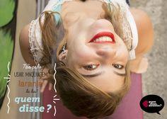 Anúncio feito para Quem disse Berenice em um trabalho da disciplina de Fotografia II
