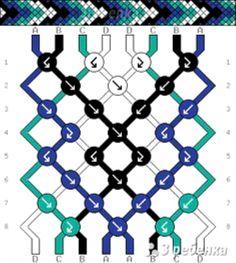 Схема фенечки 32948 Source by akayadsh – – Macrame Bracelets String Bracelet Patterns, Diy Bracelets Patterns, Thread Bracelets, Embroidery Bracelets, Macrame Bracelets, Macrame Knots, Loom Bracelets, Micro Macrame, Macrame Jewelry