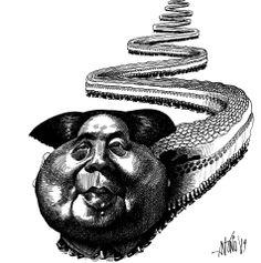 Mao Tsé Tung, 1989. por António