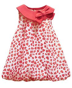 Baby Essentials Baby Dress, Baby Girls Romper Bubble Dress - Kids Baby Girl (0-24 months) - Macy's