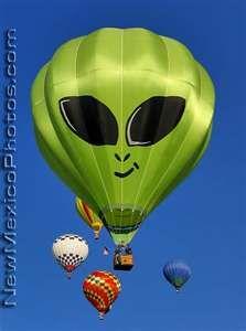 Entries in the Hot Air Balloon Festival in New Mexico ...Albuquerque International Balloon Fiesta