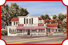 old time ice cream parlor
