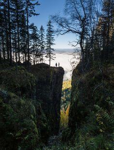 Mørkgonga Gorge by Zen Roxy