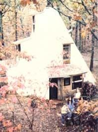 How to build a multi level Tipi home - $1500 dollars.