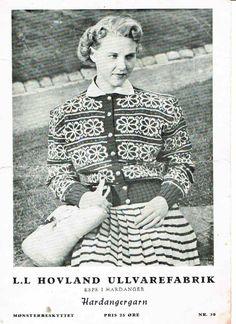 Bilderesultat for husfliden strikkeoppskrifter bergen 307 Norwegian Knitting, Bergen, Knitting Patterns, Vintage, Art, Art Background, Knit Patterns, Cable Knitting Patterns, Kunst