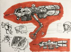 Spaceship Drawing, Kerbal Space Program, Starship Concept, Space Engineers, Sci Fi Ships, Space Crafts, Spaceships, Creature Design, For Stars