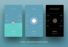 A photo of Marline app, Best Mobile App UI Designs of 2016