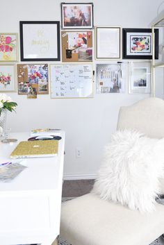 Marvelous A glam and gold home office featuring office supplies and decor from Target The gallery
