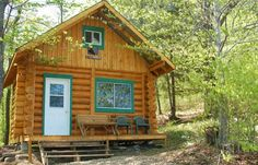 Rustic Cabins near mont sutton