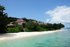 Nikoi, Indonesia -   Where: Nikoi Island, Bintan Islands, about two hours by ferry from Singapore  Distance From the Sand: Zero -- your suite is on the white sand.    How Much: Prices for two people start at SG$330 per night (about $269). Add SG$90 per day (about $73) for all meals. Boat/car transfers from the Bintan ferry are SG$90 per adult.    More Info: tel. +65/9635-1950; www.nikoi.com