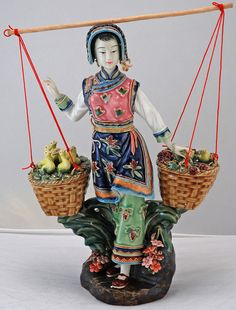 bk0215y-porcelain-chinese-figurine-statue by Silk Road Collection, via Flickr
