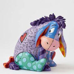 Winnie the Pooh - Eeyore - Britto - Romero Britto - World-Wide-Art.com
