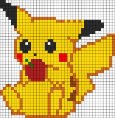 Baby Knitting Patterns Winnie Pooh - Template for # Iron Beads . Baby Knitting Patterns Winnie Pooh – template for # Bügelperlen… Baby Knitting Patterns, Rug Hooking Patterns, Knitting Charts, Crochet Patterns, Perler Patterns, Loom Patterns, Beading Patterns, Embroidery Patterns, Art Patterns