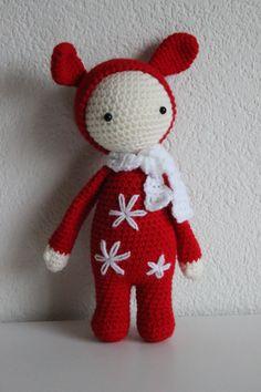 ༺༺༺♥Elles♥Heart♥Loves♥༺༺༺ ........♥Crochet Amigurumi♥........ #Amigurumi #Patterns #Crochet #Softies #Childrens #Toys #Handmade #Teddy #Doll #Tutorial #Patterns #Collectable~ ♥Creations by Doorns Amigurumi Crochet Doll