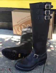 """#Wesco 20"""" Boss .good riding boots..alot of guys could care less and ride in tennis shoes or sandals..a good ankle burn cures that.."""