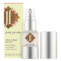 CELLULAR COLLAGEN EYE SERUM. Paraben and preservative free, this anti-aging eye serum is concentrated with collagen and hyaluronic acid to help increase skin suppleness and plump fine lines. Rose hips and marine derived extracts replenish the delicate eye area, leaving it lifted and more resilient.