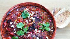 Indisk kyllingcurry med hjemmelaget currypaste