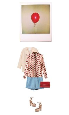 """""""Untitled #658"""" by tamara-40 ❤ liked on Polyvore featuring Monki, Aquazzura and Chloé"""