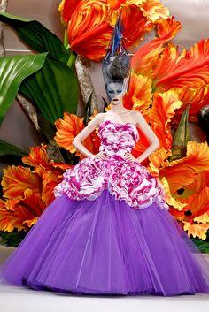 Christian Dior Fall 2010 Couture Fashion Show - Viviane Orth