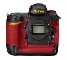 Nikon D3 Ferrari...hello sexy! Ok, so who wants to buy this for me.  To die for!!!!!