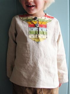 """""""Charlie Pullover Tunic"""" - I can't decide yet if I like this look on a boy."""