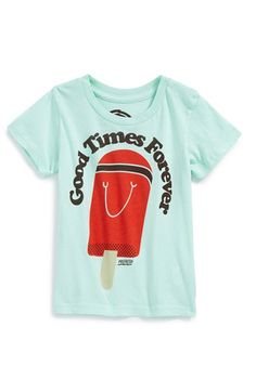 PREFRESH 'Good Times Forever' Popsicle Graphic Cotton T-Shirt (Baby Boys) available at #Nordstrom
