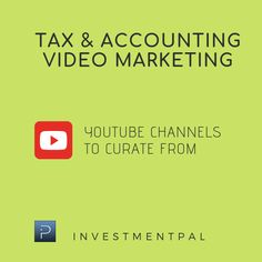 Social Media Marketing, Helpful Hints, Accounting, Channel, Youtube, Useful Tips, Handy Tips, Youtubers