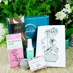 View all of Mama Moment's self care boxes - subscription and individual boxes. Mindfulness Colouring, Sleep Spray, Care Box, Give Peace A Chance, Affirmation Cards, Boxing Day, Natural Deodorant, Loose Leaf Tea, Little Boxes