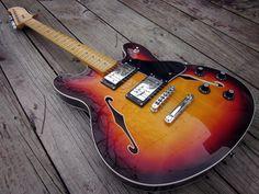 Gallery: Fender Starcaster Reissue: http://www.fndr46.com/gallery-fender-starcaster-reissue/ #FenderStarcaster