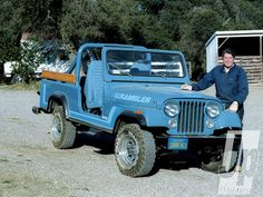 Reagans 1983 Cj8 Scrambler 1962 Jeep Cj6 Reagan With His Scrambler