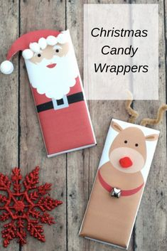 Christmas Candy Wrap