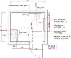 Banheiro Adaptado - Clique Arquitetura