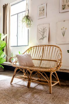 Image of Banco Pera Deco Furniture, Home Furniture, Furniture Design, Interior And Exterior, Interior Design, Home Room Design, Vintage Chairs, Dream Decor, Decorating Your Home