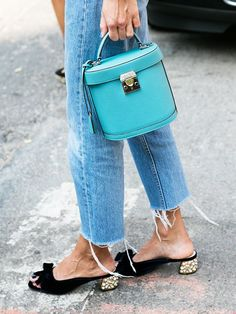 Could This New Shoe Trend Make You Ditch Last Year's Sandals? via @WhoWhatWear