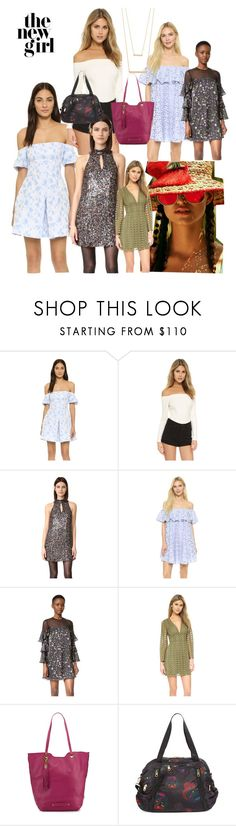 """The New Girl!"" by lalu-papa ❤ liked on Polyvore featuring Cynthia Rowley, L'Agence, Cynthia Vincent and Jennifer Zeuner"