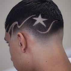 Cut By 👉 Santa Ana, California Hair Trends 2015, Mens Hair Trends, Hairstyles Haircuts, Haircuts For Men, Medium Hairstyles, Short Fade Haircut, Hair And Beard Styles, Hair Styles, Shaved Hair Designs