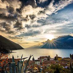 « Morning ☕️ Torbole - Lake Garda - Italy »