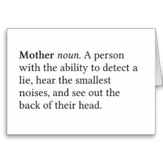 funny mother's day poems | Funny Definition Mother's Day Greeting Cards