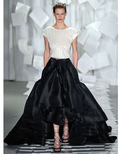 Jason Wu Spring 2012.... great all in white for a wedding dress!