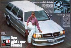1983 Mercedes Benz 500set W126 Station Wagon By Zender Merc Benz Benz Station Wagon