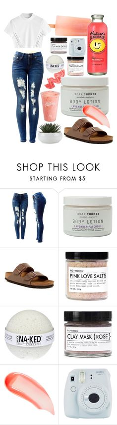 """""""Follow for Follow. Summer"""" by meinersk45195 ❤ liked on Polyvore featuring Disney, Birkenstock, Fig+Yarrow, NARS Cosmetics, Fuji and summertime"""