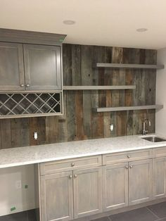 incredible basement bar design for more attractive home 23 - Bar Ideen Wet Bar Basement, Basement Kitchenette, Basement Bar Designs, Home Bar Designs, Basement Ideas, Basement Finishing, Wet Bar Designs, Modern Basement, Rustic Basement Bar