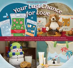 It's not too late! #Scentsy February Host Exclusive is your last chance to get your hands on some of our fav Host Exclusive offerings! Host a qualifying party this month and get yours ;)  *available while supplies last and/or through 2/28/2014.
