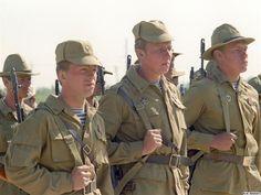 Soviet troops . Afghanistan, 1980's