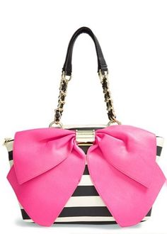 66d74ca1834a Betsey Johnson  Bow-nanza  Satchel (Online Only)